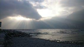 Lichteffekt der Wolken lizenzfreies stockbild