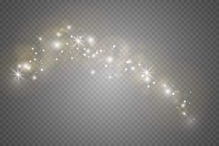 Lichteffekt des Glühens Auch im corel abgehobenen Betrag Weihnachtsgrelles Konzept stockfoto
