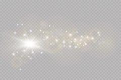 Lichteffekt des Glühens Auch im corel abgehobenen Betrag Weihnachtsgrelles Konzept stockbild
