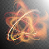 Lichteffekt ENV 10 lizenzfreie abbildung