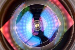 Lichteffekt Len lizenzfreies stockbild