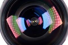Lichteffekt Len stockfotos