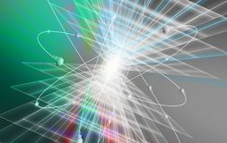 Lichteffekte Stockbild