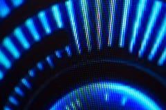 Lichtemittierende Dioden für LED-Anzeige Schirmhintergrund Digital LED Lizenzfreies Stockfoto