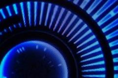 Lichtemittierende Dioden für LED-Anzeige Schirmhintergrund Digital LED Lizenzfreie Stockbilder