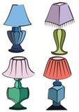 Lichten Royalty-vrije Stock Afbeeldingen