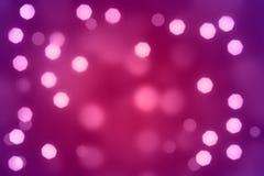 Lichten bij de nacht Royalty-vrije Stock Afbeeldingen