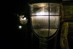 Lichten in dark Royalty-vrije Stock Afbeelding