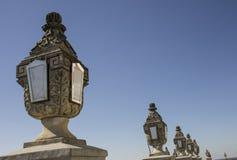 Lichten in de klassieke stijl van hemel Royalty-vrije Stock Afbeeldingen