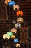 Lichten in de Kunstencentrum van Souq Waqif Royalty-vrije Stock Fotografie
