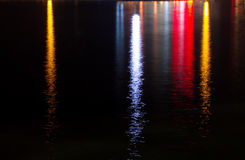 Lichten en Bezinningen Royalty-vrije Stock Fotografie