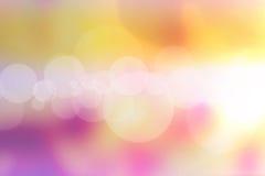 Lichten Onscherp patroon Stock Afbeeldingen