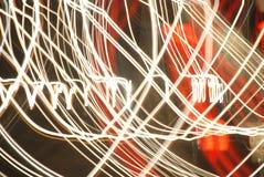 Lichten op een weg 4 Royalty-vrije Stock Afbeelding