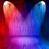Lichten in twee stadia Royalty-vrije Stock Afbeelding