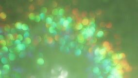 Lichten uit nadrukachtergrond stock footage
