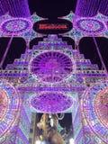 Lichten Valencia Royalty-vrije Stock Foto