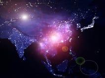 Lichten van Azië Royalty-vrije Stock Afbeeldingen