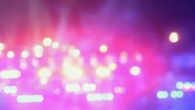 Lichten van de Defocused de feestelijke kleur stock videobeelden