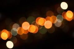Lichten van de Stad Royalty-vrije Stock Foto