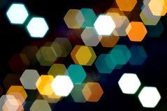 Lichten van de Stad Stock Foto's