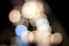 Lichten van de stad Stock Foto