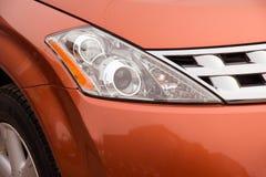 Lichten van een auto Stock Foto