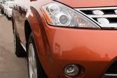 Lichten van een auto Royalty-vrije Stock Afbeeldingen