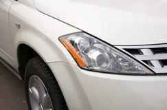 Lichten van een auto Stock Afbeeldingen