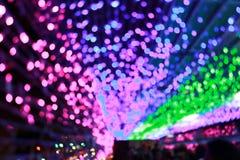 Lichten van kleurrijke achtergrond royalty-vrije stock foto