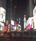 Lichten van Manhattan stock foto's