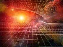 Lichten van Meetkunde vector illustratie
