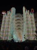 Lichten van Valencia Royalty-vrije Stock Fotografie