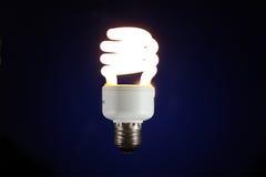 Lichtende lamp Stock Afbeelding