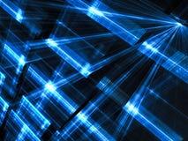 Lichtenmuur - abstract digitaal geproduceerd beeld Royalty-vrije Stock Foto's