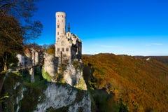 Lichtenstein Castle, Γερμανία Στοκ Εικόνα