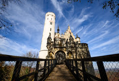 Lichtenstein Castle, Γερμανία Στοκ φωτογραφία με δικαίωμα ελεύθερης χρήσης