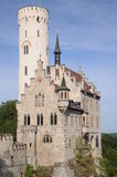 Lichtenstein Castle Royalty Free Stock Images