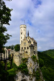 Lichtenstein Castle Royalty Free Stock Image