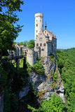 The Lichtenstein castle in Baden-Württemberg Royalty Free Stock Image