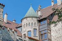 Lichtenstein Castle in Baden-Wurttemberg, Germany Royalty Free Stock Images