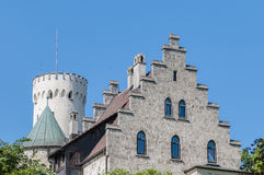 Lichtenstein Castle in Baden-Wurttemberg, Germany Stock Image