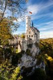 Lichtenstein castle Germany Europe panoramic view Royalty Free Stock Photos