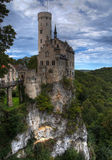 Lichtenstein Castle HDR. Lichtenstein Castle from Germany in HDR colors Royalty Free Stock Images