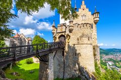 Free Lichtenstein Castle With Bridge, Baden-Wurttemberg, Germany Royalty Free Stock Image - 156203606