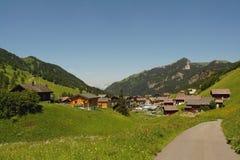 Lichtenstein village Royalty Free Stock Images