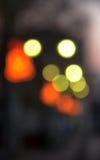 Lichter abstrakter Bokeh-Hintergrund Lizenzfreie Stockbilder