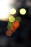 Lichter abstrakter Bokeh-Hintergrund Stockbilder