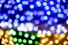 Lichter aus Fokusbild heraus Lizenzfreies Stockfoto