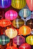 Lichter in der Dunkelheit Lizenzfreie Stockfotografie