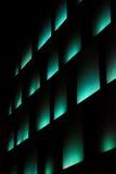 Lichter in der Dunkelheit Stockbild